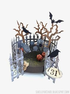 SH_shelly hickox pop it ups halloween scene