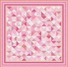 """PINK TUTU - 82"""" - 5 colours - Pre-cut Quilt Kit by Quilt-Addicts Queen  