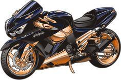 Custom zx-14 motorcycle by Bmart333 on DeviantArt