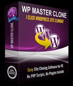 WP Master Clone Review – 89% DISCOUNT & HUGE BONUS http://www.jvzoowsoreview.com/wp-master-clone-review-89-discount-huge-bonus/
