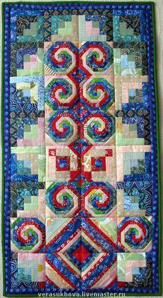 Текстиль, ковры ручной работы. Ярмарка Мастеров - ручная работа. Купить Коврик для намаза. Handmade. Лоскутная техника, подарок, печворк