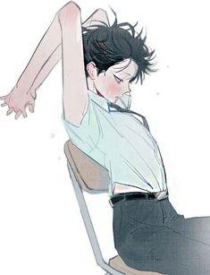 Manga Drawing, Manga Art, Anime Art, Cute Anime Boy, Anime Boys, Art Et Illustration, Character Illustration, Pretty Art, Cute Art