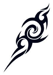 Tribal Impulse Tattoo #temporarytattoo #temporarytattoos #t4aw #TribalTattoo