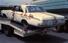 Ray Fox 1964 Dodge.   #OLDSCHOOLNASCAR
