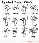dance lessons for mathmaticians Mrs. Carson showed us this hahah love it.