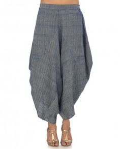 Navy Blue Dhoti Pants