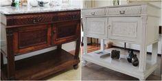 Como tantas veces, pintamos un mueble antiguo de blanco. Y como siempre pasa, queda lindísimo! Pero esta vez era muy importante para mí que ... Palazzo, Buffet, Cabinet, Storage, Furniture, Home Decor, Amor, Antique Painted Furniture, White People