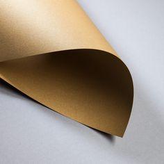 Metallics gebürstet 250/300 g DIN A3 | Cognac | 300 g/qm