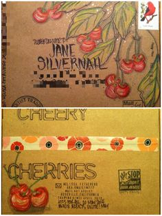 Mail art by Melissa Fetalvero of ATC's For All