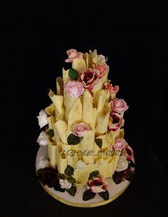 Çikolatalı pasta ,scroll cake