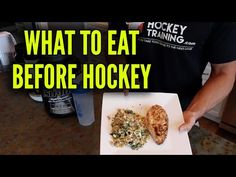 Nutrition For Hockey Players - What should I Eat Before And After a Game or Practice - YouTube