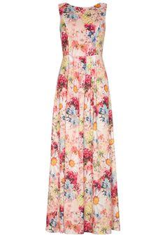 Floral Bouquet Maxi Dress