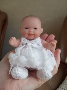 5 Inch Berenguer Doll Clothes for sale | Thread: For Sale - 5 inch Berenguer baby dolls with hand knitted ...