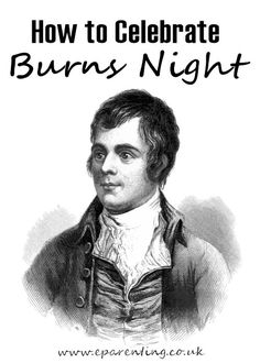 Burns Night is a special night in Scotland, the birthday of national poet Robert Burns which is celebrated with a Burns Night Supper and poetry readings. Burns Night is celebrated on the January each year. Burns Night Activities, Burns Night Crafts, Robbie Burns Night, Burns Night Recipes, Burns Night Celebration, Scottish Poems, Burns Supper, Robert Burns, Scottish Recipes