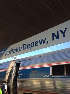 Amtrak - Buffalo-Depew Station (BUF) in Depew, NY