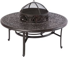 Kaleidoscope Coffee Table with Firepit