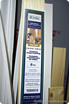 Wood Planks For The Ceiling Evertrue Edge V Groove