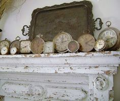 Great collection of antique alarm clocks!