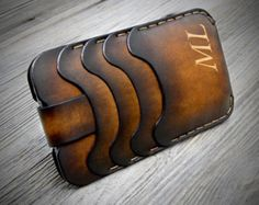 HANDMADE ITALIAN LEATHER WALLETS. CAREFULLY CONSTRUCTED IN ITALY ENTIRELY BY HAND. HAND STITCHED FOR A LONG LIFE. ACTRACTIVE HAND DYED WONDERFUL
