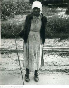 Dorothea Lange -  Ex-slave, Alabama -37