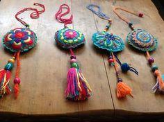Mandalas bordado mexicano