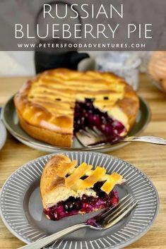 Russian Blueberry Pie Recipe (Video) - Peter's Food Adventures