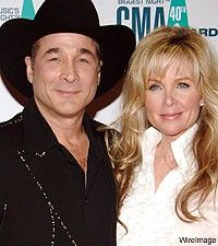 clint black and lisa hartman - married since 1991 they have 1 daughter born in 2001