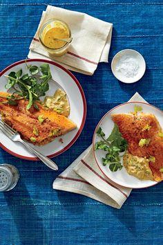 Mardi Gras Recipes: Crab-Stuffed Catfish Fillets with Cajun Rémoulade