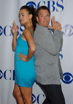 Cute and Cuter: Cote de Pablo and Micheal Weatherly #NCIS