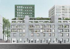 OFFICE . Firket . Smets . HAVENLAAN HOUSING COMPLEX . Brussels (5)