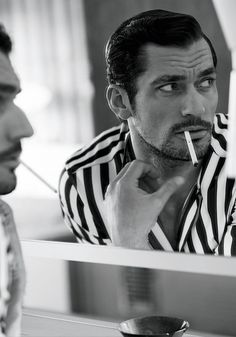 "Model : David Gandy """
