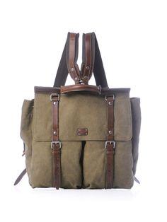 Washed canvas backpack | Dolce & Gabbana | Matchesfashion.com