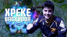 xPeke backdoor vs. SK Gaming [Intel Extreme Masters Katowice]  don asnwer see Jump stree 1-2 22-21 Lol sparrow wtf to good disqiues