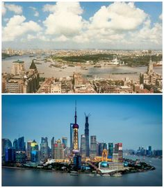 10 world cities that have changed beyond recognition - Beijing, Shanghai, Nairobi, Dubai, Australia, World Cities, How To Run Faster, Geography, Cool Photos