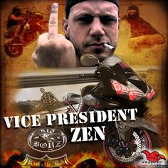 Signature FB profile pics. This one of Zen. Vice President of 615Boyz MC.