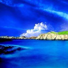 So very blue...