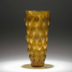 Lotus Bud Beaker -- 1st Century CE -- Roman, Eastern Mediterranean -- J. Paul Getty Collection.