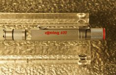 Rotring 600, Roller Ball Pen silver detail