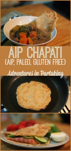 BREAD is the illusive 'white rabbit' of the AIP world. If you're looking for bread, then this one is quick and easy and is the perfect addition to tonight's dinner. ADVENTURES IN PARTAKING Paleo Bread, Paleo Baking, Paleo Recipes, Cooking Recipes, Aip Diet, Clean Eating, Healthy Eating, Muffin, Meals