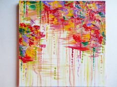 Acrylic Painting Free Patterns | stormy_moods_abstract_acrylic_painting_fine_art_original_rain_storm ...