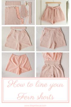 Afternoon, an indie sewing pattern label based in Cape Town, South Africa, has recently released a new sewing pattern! Fern is a lovely vintage-inspired pair of shorts featuring turn-up cuffs, oh-so… Casual Chic Outfits, Indie Outfits, Fashion Outfits, Fashion Shorts, Ankara Fashion, Fashion Ideas, Sewing Shorts, Sewing Clothes, Diy Shorts