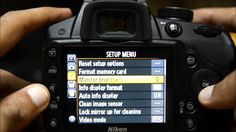 Nikon D3200 Tutorial - How to Set Up Nikon D3200 Menu Guide Tutorial