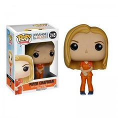 "This, was my first Funko Pop! It's Piper Chapman from the TV show ""Orange is the New Black"". I chose it because it's my favorite character on this show. I'd like to have Alex Vause, her girlfriend."