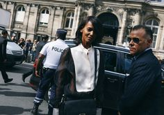 Liya Kebede and George Cortina