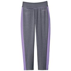 Curves® Everyday Capri Relaxed fit with front pocket. Wicking finish helps keep you dry. Cotton/polyester with spandex. Machine wash and dry. Imported.<br><br>Curves is a registered trademark of Curves International, Inc. © Curves International, Inc.