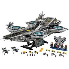 LEGO Marvel Super Heroes 76042 The SHIELD Helicarrier ** Be sure to check out this awesome product. (This is an affiliate link) #BuildingToys