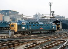 55008 'The Green Howards' at KIngs Cross in July 1972.