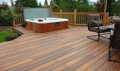 Deck with hot tub ideas hot tub deck plans hot tub deck framing decks and hot . deck with hot tub ideas hot tub landscaping Hot Tub Backyard, Backyard Pool Landscaping, Landscaping Tips, Sauna Design, Deck Design, Deck Fire Pit, Hot Tub Cover, Landscapes, Hot Tubs