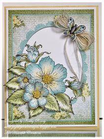 Joyfully Made Designs: Botanical Rose Bouquet - Heartfelt Creations