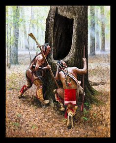 Steve White Native American and frontier art Native American Paintings, Native American Pictures, Indian Pictures, Indian Pics, Native American Warrior, Native American History, Steve White, Woodland Indians, American Indian Art